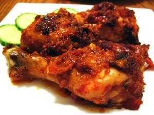 Resep Ayam Bumbu Rujak Rasa Pedas Gurih