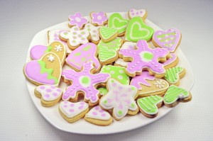 Resep Butter Cookies Royal Icing Spesial Nikmat
