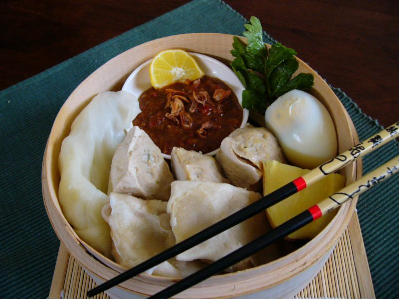 Siomay Bandung lezat dan nikmat