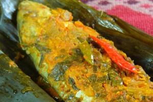 Cara Membuat Masakan Pepes Ikan Kembung Sedap