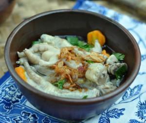 Resep Cara Membuat Sop Ceker Ayam Sedap