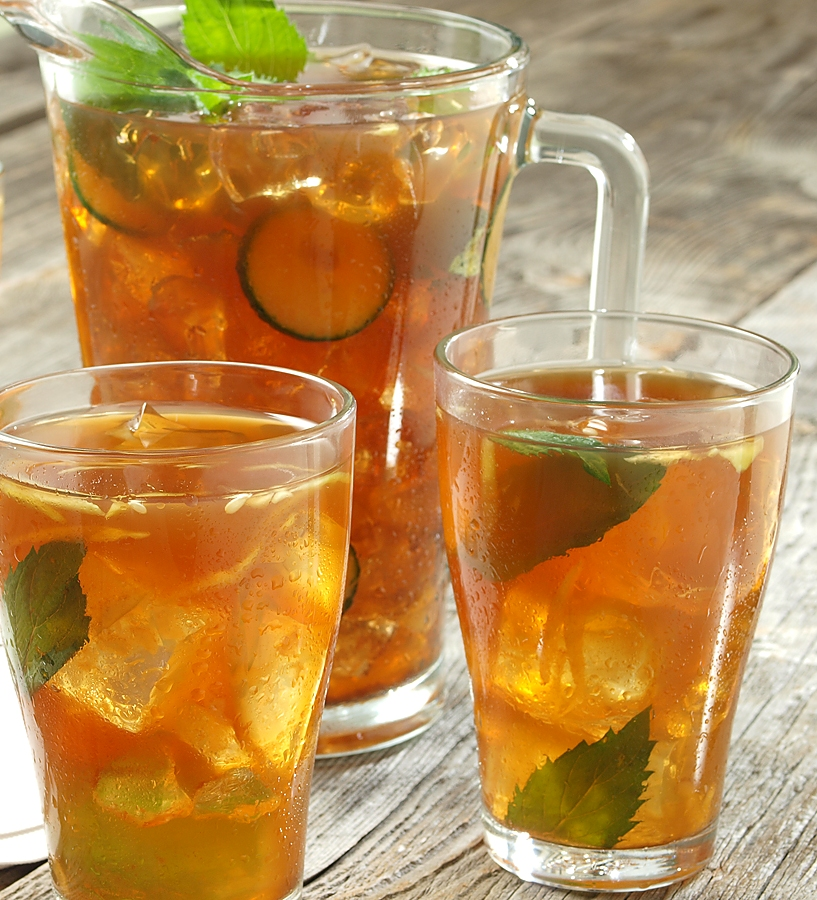 Resep Membuat Minuman Segar Soda Es Lemon Tea - Resep Cara