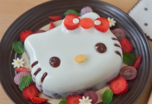 Resep Puding Lucu Enak Hello Kitty Berry