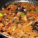 Cara Membuat Daging Masak Jamur Nikmat