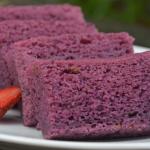 Cara Membuat Kue Ubi Ungu Panggang Empuk Enak