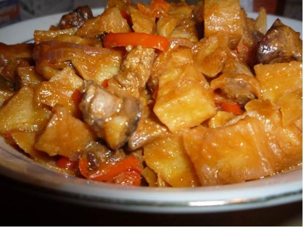 kentang kari