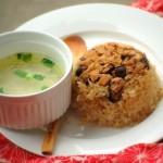 Resep Membuat Nasi Tim Ayam Jamur Sedap Nikmat