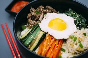 Resep Bibimbap Nasi Campur Korea Sedap