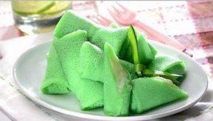 Resep Dadar Gulung Isi Vla Durian Nikmat