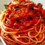 Resep Spaghetti Saus Tuna Spesial yang Enak dan Nikmat