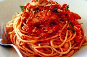 resep spaghetti saus tuna