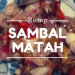 Resep Sambal Matah Sereh dan Tomat Khas Bali